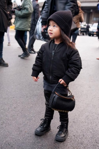 Nepoata designer-ului Alexander Wang, a cucerit podiumul
