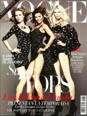 Harper's Bazaar UK reuneste manechine legendare