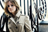 Emma Watson este noua imagine Burberry