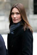 """Carla Bruni va aparea în """"CSI - Crime si Investigatii"""""""