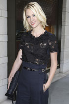 January Jones este noua imagine Versace